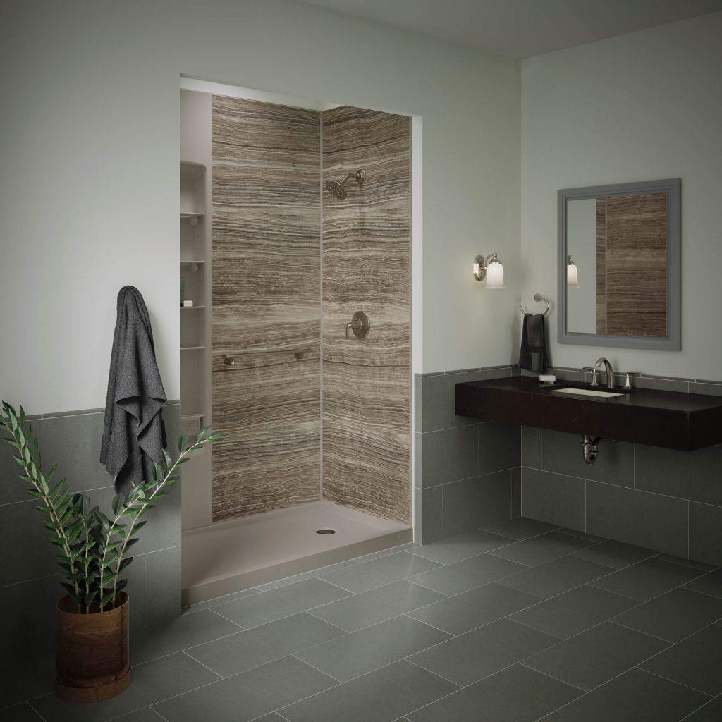 kohler walk in shower