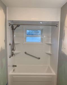 Finished Bath Remodel in Seakonk, MA