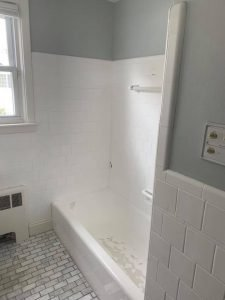 Before Bath Transformation in East Greenwich, RI - Angle 2